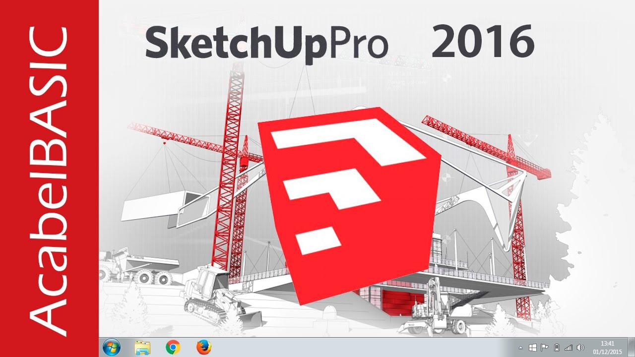 descargar sketchup 2018 full español