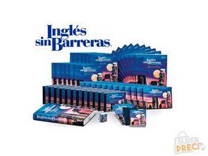 Curso Inglés Sin Barreras 12 DVDs, CD Audio, Cuadernos, Manuales, Caratulas, (Edición 2007) (COMPLETO)