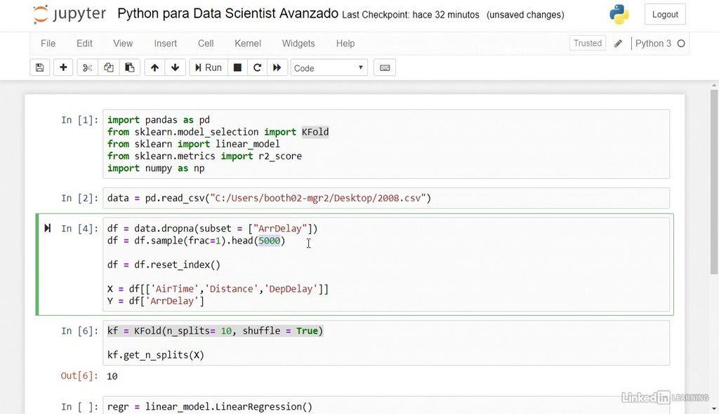 Curso Python para data scientist avanzado