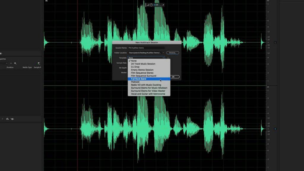 Adobe Audition desde cero